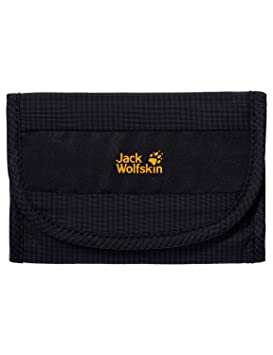 38e27dad5d Jack Wolfskin Cashbag RFID Wallet, Black, 1.5 L: Amazon.co.uk ...