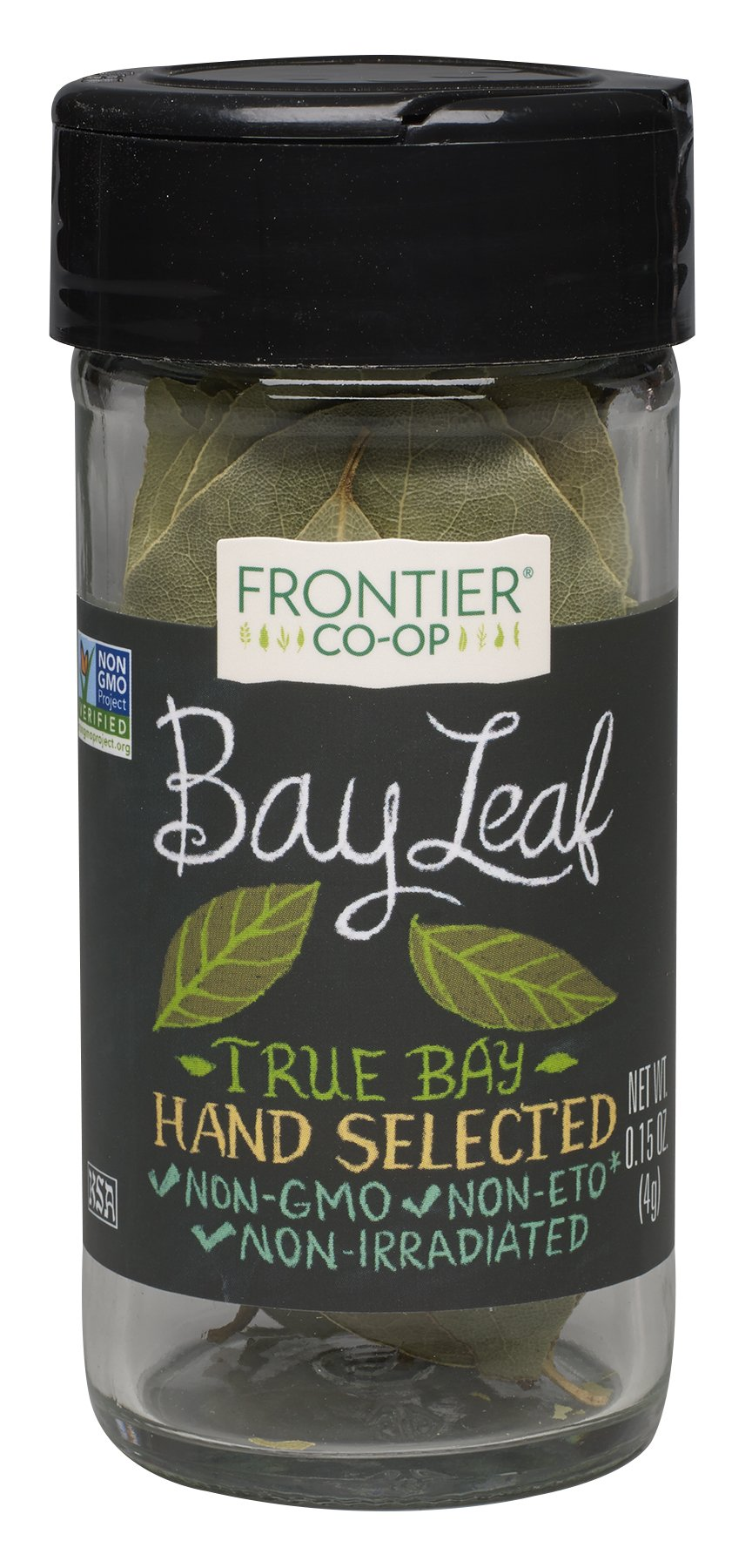 Frontier Bay Leaf Whole, 0.16 Ounce Bottles (Pack of 3)