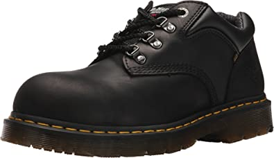 dr martens steel toe safety shoe