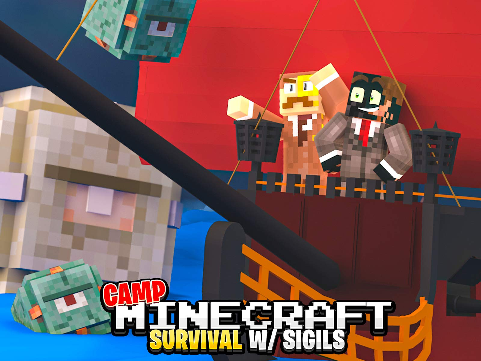 Clip: Camp Minecraft Survival (Sigils) - Season 9