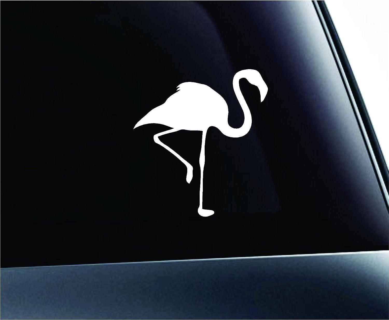 Amazoncom Car Flamingo Silhouette Symbol Decal Funny Car Truck - Bird window stickers amazon