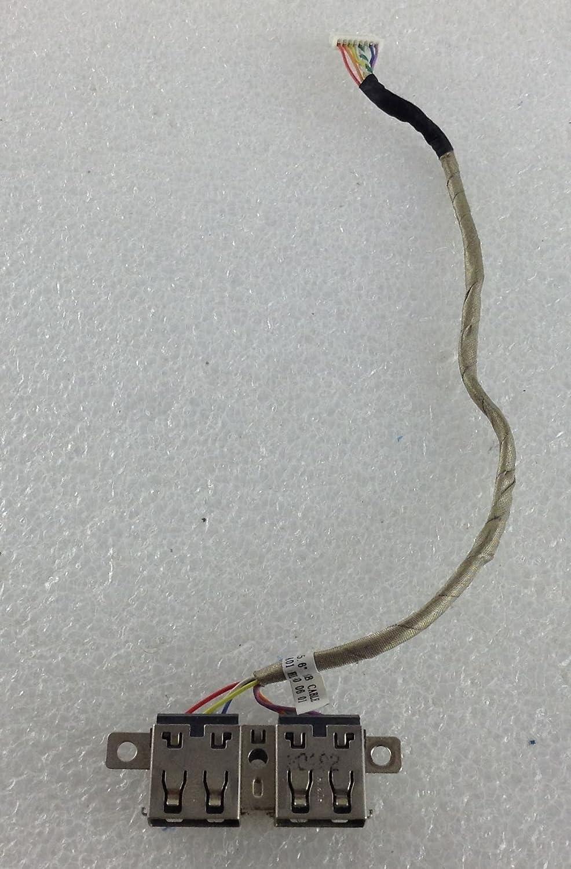 HP Probook 4520s USB Ports PCB Board + cable data ribbon Genuine ...