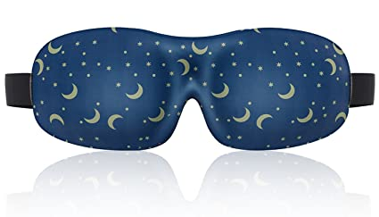 LONFROTE ajustable dormir máscara de ojo máscara de dormir con tapones para los oídos y bolsa