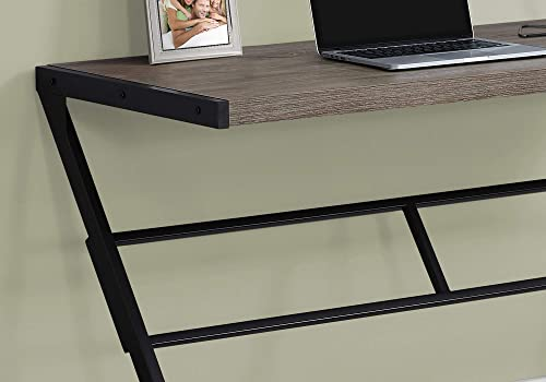 Monarch Specialties Simple Modern Study Laptop Table