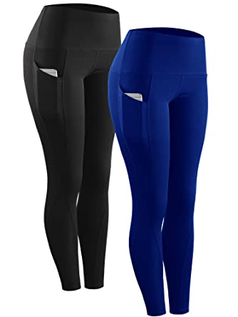 3cf3871880b Amazon.com  Neleus High Waist Running Workout Leggings for Yoga with Pockets   Clothing