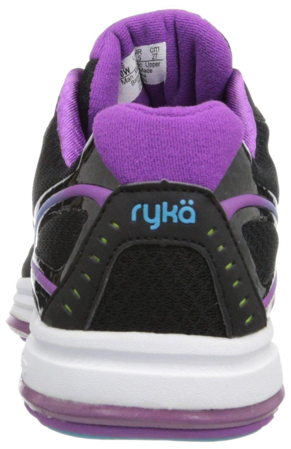 Ryka Women's Devotion B(M) Walking Shoe B00ISMJUJ4 10 B(M) Devotion US|Black/Dark Purple/Light Blue 7fcdca
