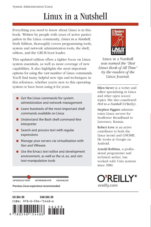 Amazon com: O'Reilly Media: Linux / Unix