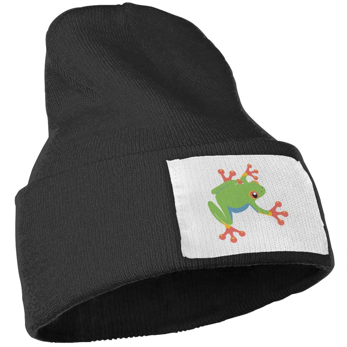 JZMY6 Tree Frog Winter Warm Beanie Hat Knit Cap