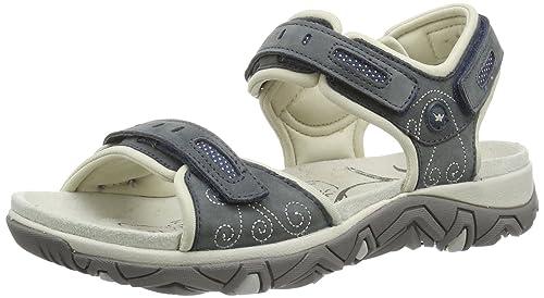 il migliore scarpe da corsa presa di fabbrica Allrounder by Mephisto Lagoona, Sandali Sportivi Donna, Blu (Blau ...