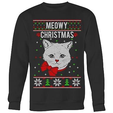 Meowy Christmas Sweater.Joyhip Com Meowy Christmas Ugly Christmas Sweater Awesome
