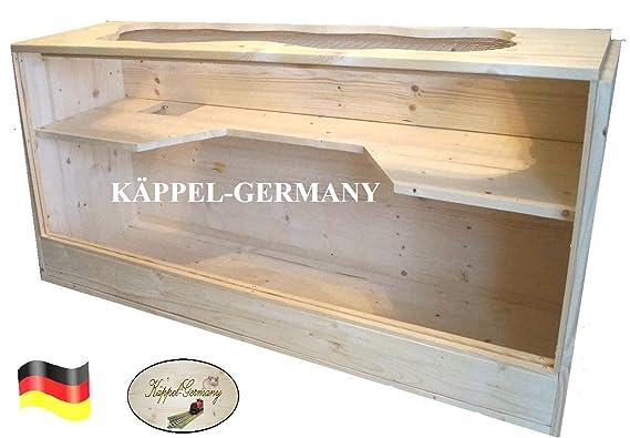 Luxus NAGERHEIM PING Pong Komfort Gehege Käfig für Hamster Rennmaus Made in Germany von KÄPPEL-Germany 120x40x60cm