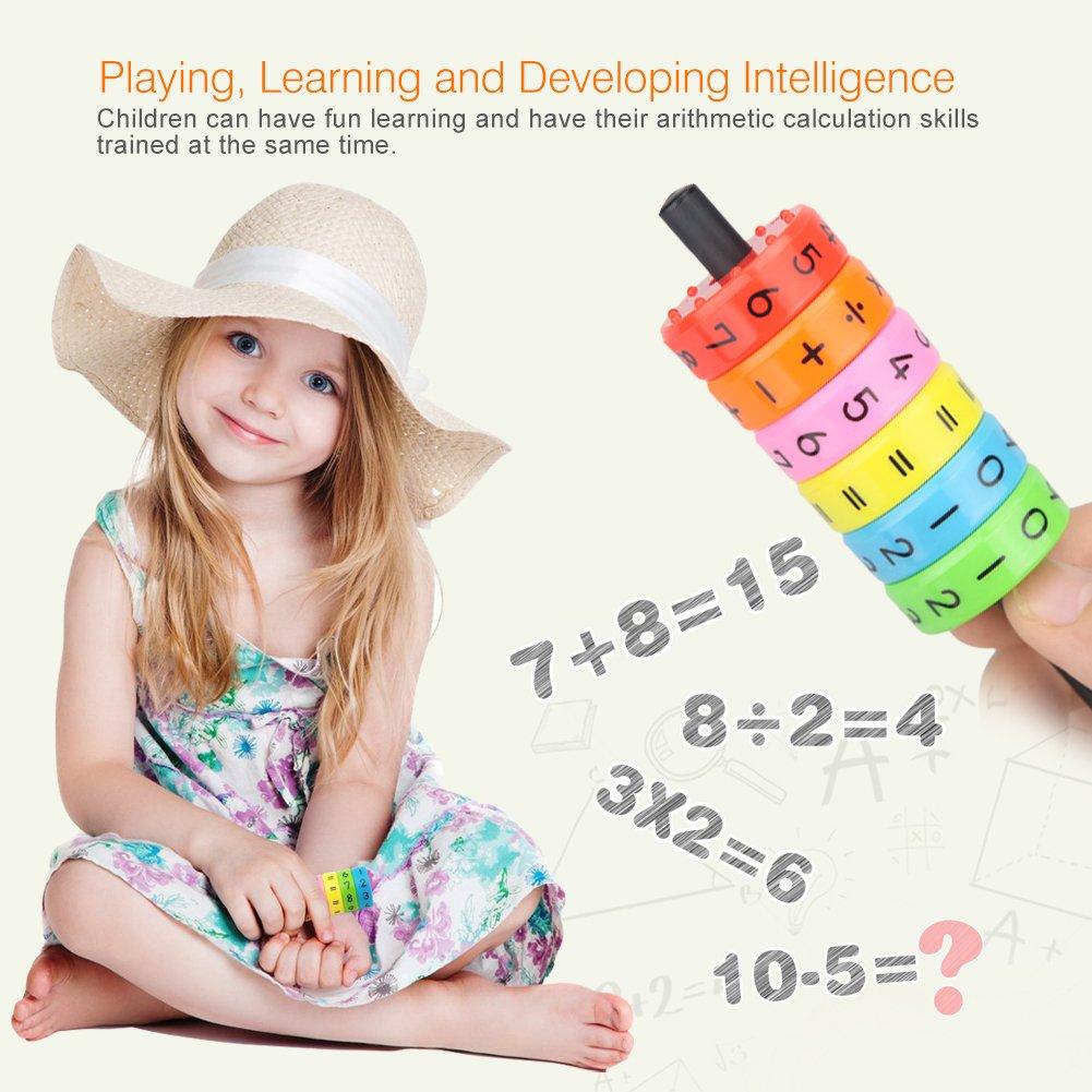 OOCOME magn/étique arithm/étique Apprentissage Enfants Jouets pour Enfants
