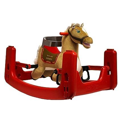 Amazon.com: Rockin\' Rider Legacy Grow-with-Me Pony: Toys & Games