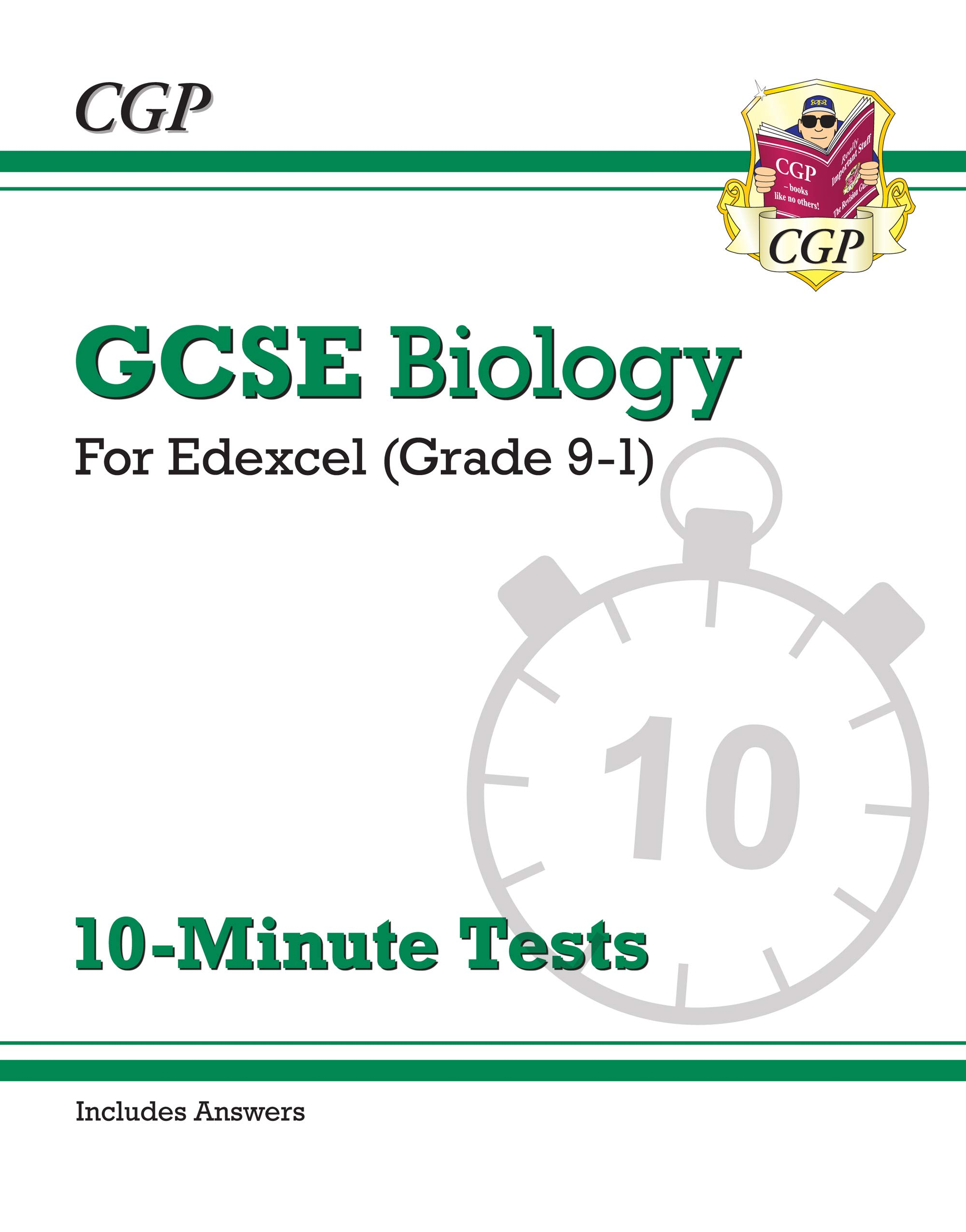 New Grade 9-1 GCSE Biology: Edexcel 10-Minute Tests (with answers) (CGP  GCSE Biology 9-1 Revision): Amazon.co.uk: CGP Books: 9781789080780: Books