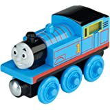 Fisher-Price Thomas & Friends Wooden Railway, Roll and Glow Thomas - Battery Operated