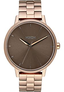 Nixon Womens Kensington Watch Rose Gold Taupe
