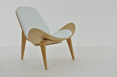 Hans J Wegner Replica CH07 Shell Chair White By Pavorio