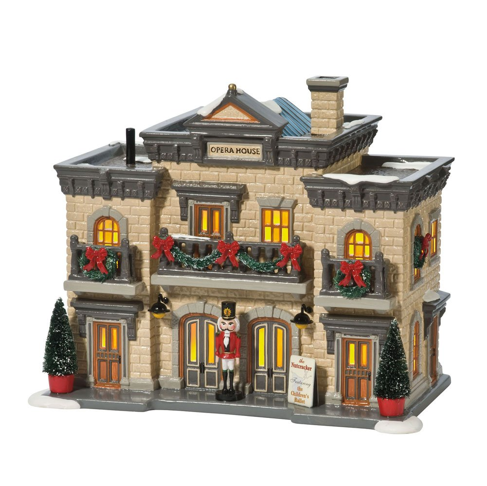 Department 56 Snow Village Nutcracker Playhouse Miniature Lit Building by Department 56