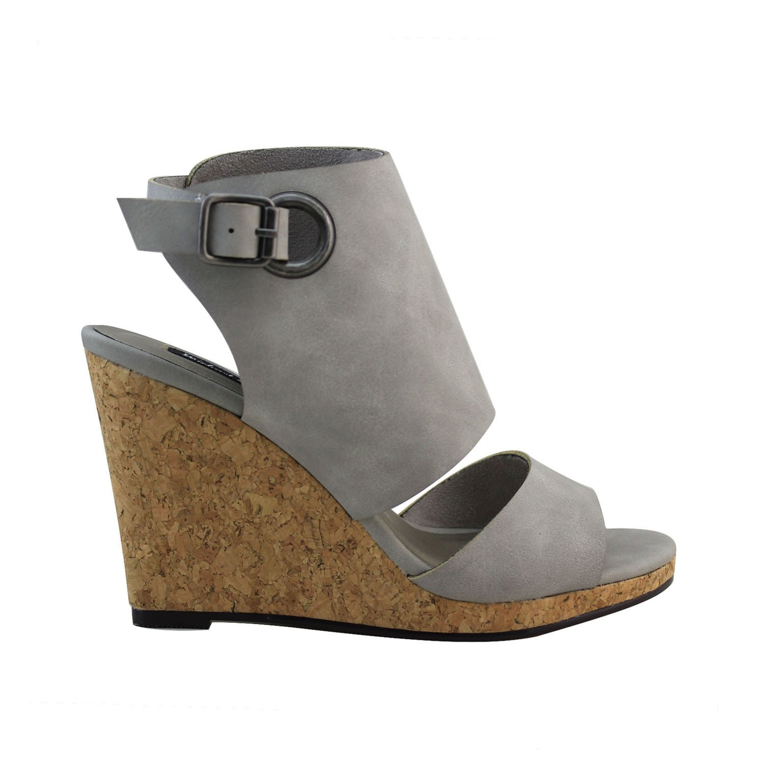 Michael Antonio Women's Gymniss Wedge Sandal B01N3SOB4U 8 B(M) US|Grey