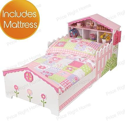 Kidkraft Casa de Muñecas Junior Niños Pequeños cama + Salto Muelle Colchón