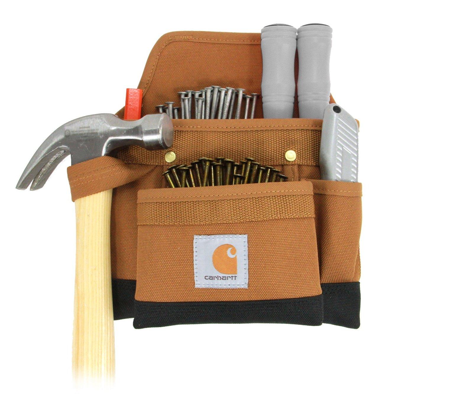 Carhartt Legacy Build Your Own Belt Custom Tool Belt Pouch, Carpenter's Pouch