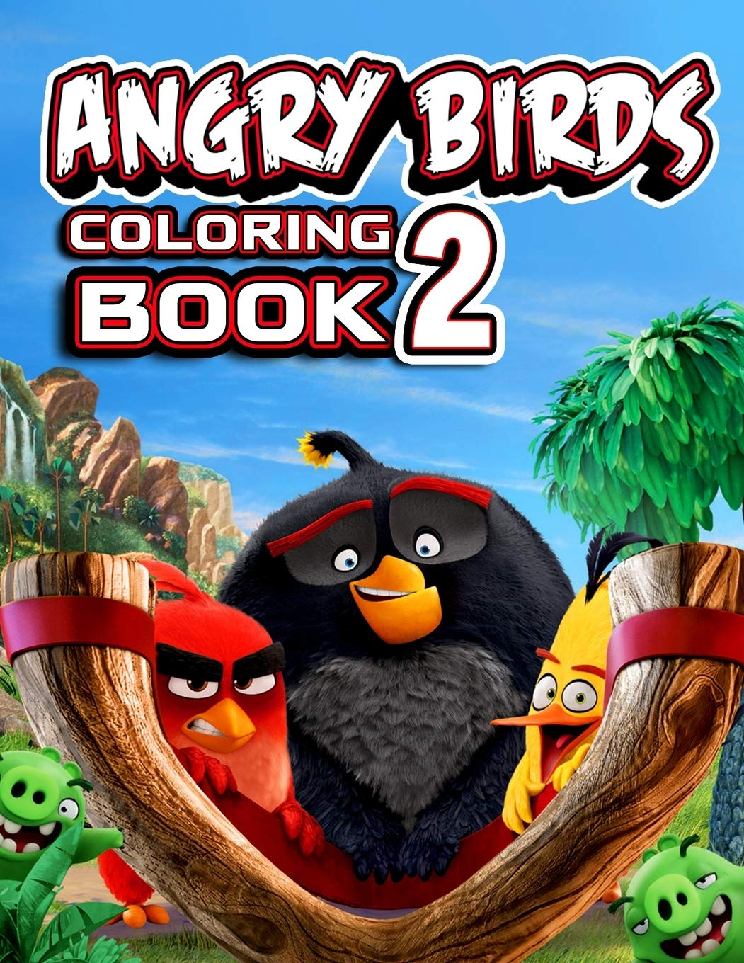 Angry Birds Coloring Pages For Kids — Mister Coloring | 1360x1051