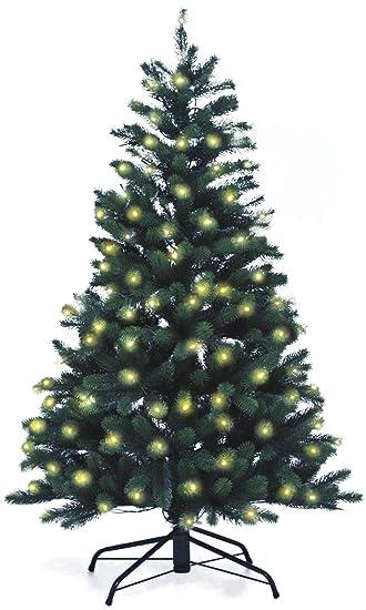 Künstlicher Weihnachtsbaum Mit Licht.Lönartz Naturgetreuer Künstlicher Weihnachtsbaum Pe Spritzguss Mit Beleuchtung 166 Leds 7 5w Höhe 150cm ø100cm Pe Bm150