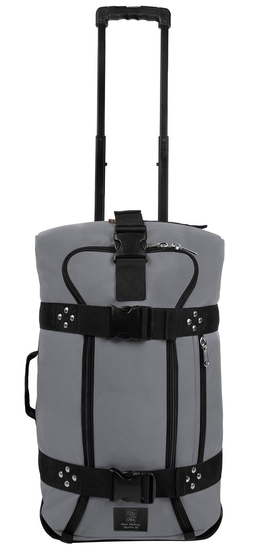 クラブグローブMini Rolling Duffle III Travel Luggage B01G99XQ2O チャコールグレー チャコールグレー