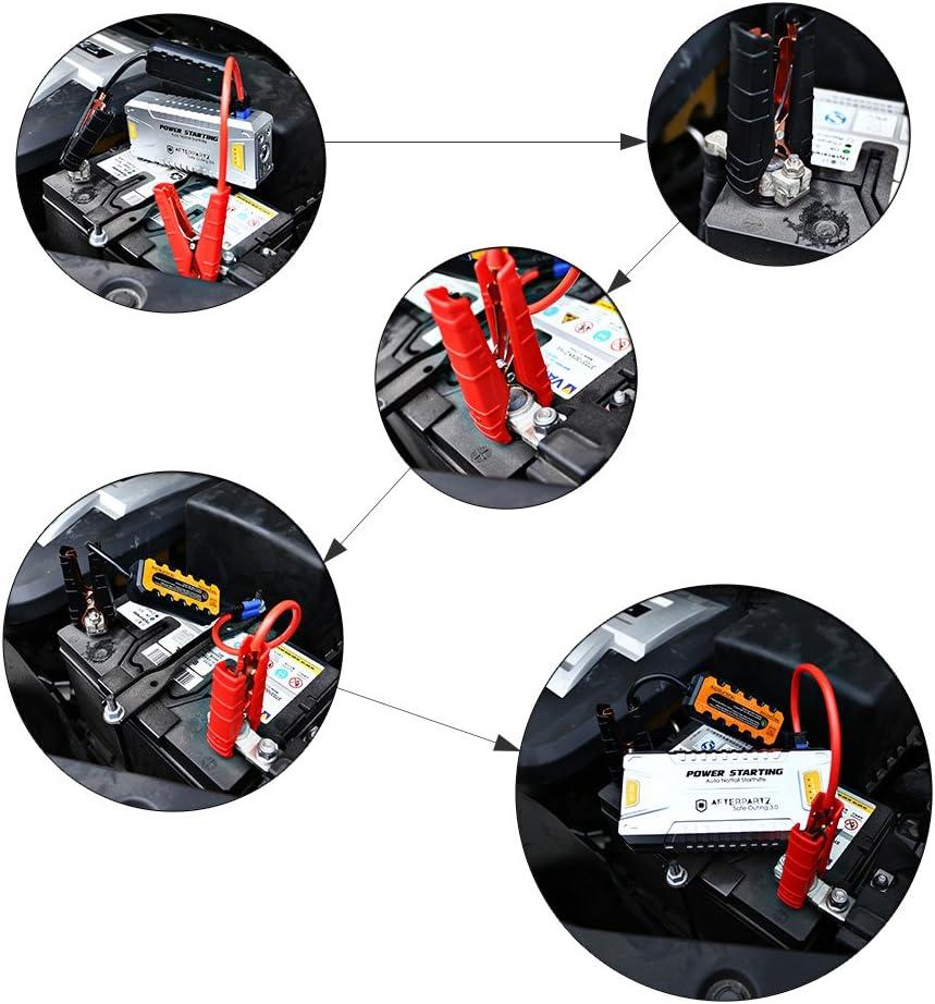 Not Start Portable Power Bank Start Cavo con Sistema di Protezione Do 06 12/V-16/V Tensione Uscita AFTERPARTZ Auto Start Aiuto 20000/mAh 1000/a per Tutti i 12/V Motors