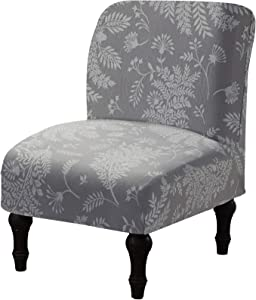 Armless Chair Slipcover Removable Washable Chair Covers Furniture Protector Covers for Living Room Hotel (02)