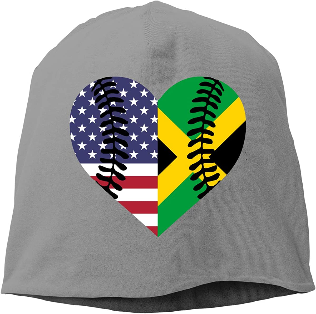 Winter Warm Knit Hat Bahamas Flag Baseball in My DNA Beanie Skull Cap for Women and Men
