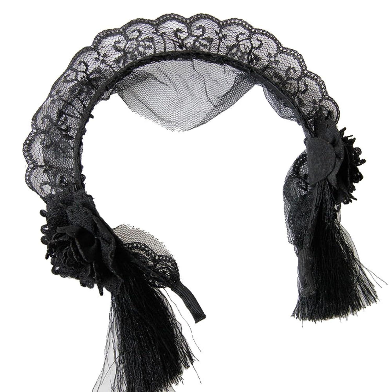 Aiklin Women's Headband Vintage Maid Headwear Cosplay Accessories