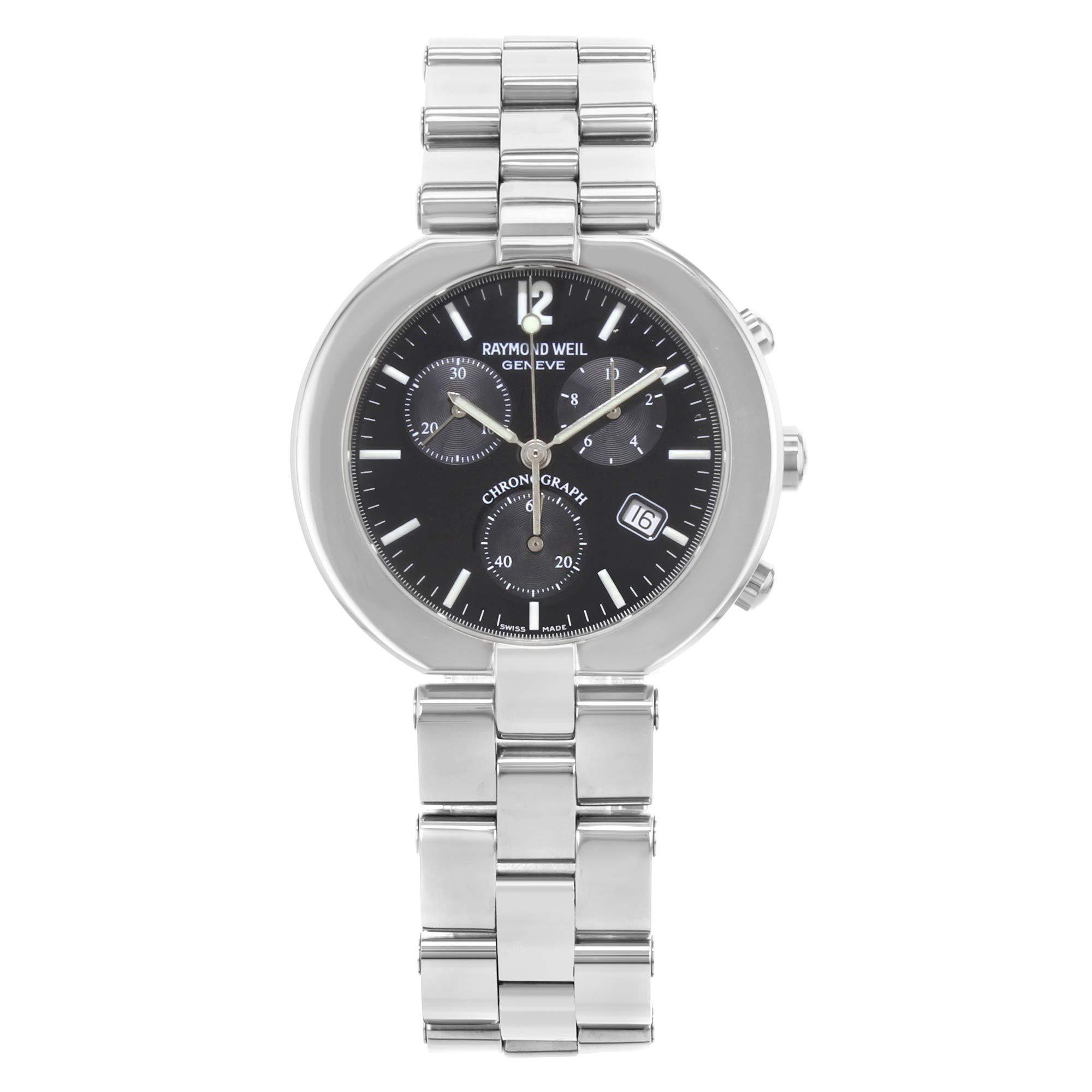 Raymond Weil Allegro Quartz Male Watch 4817S-BK (Certified Pre-Owned)