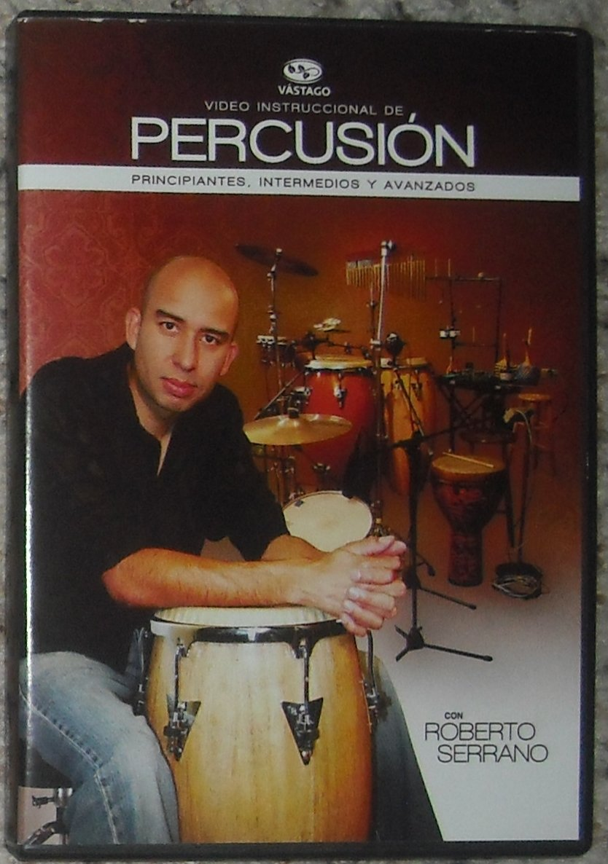 roberto serrano video instruccional de percusin dvd