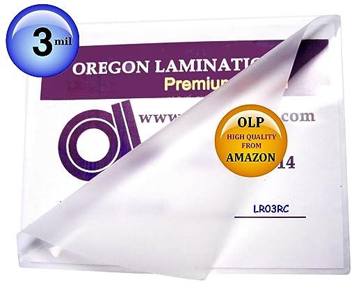 Amazon.com : Letter Laminating Pouches 3 Mil 9 x 11-1/2 Hot Qty ...
