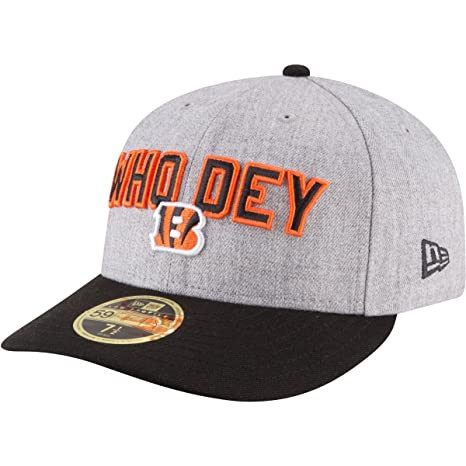 b51f174cdc9bc6 Amazon.com : New Era Cincinnati Bengals 59Fifty Low Profile On Stage Draft Fitted  Hat (Size 7 3/8) : Sports & Outdoors