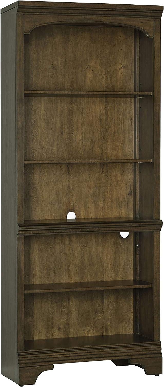 Coaster Home Furnishings Hartshill 5-Shelf Burnished Oak Bookcase