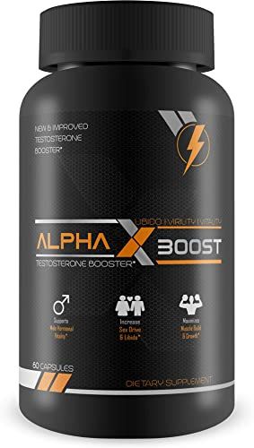 NaturalSlim Male Testosterone Booster, With Propietary Blend Formulated by Award Winning Metabolism Specialist – Improved Physical Strength, Energy Levels and Sexual Health for Men Naturally