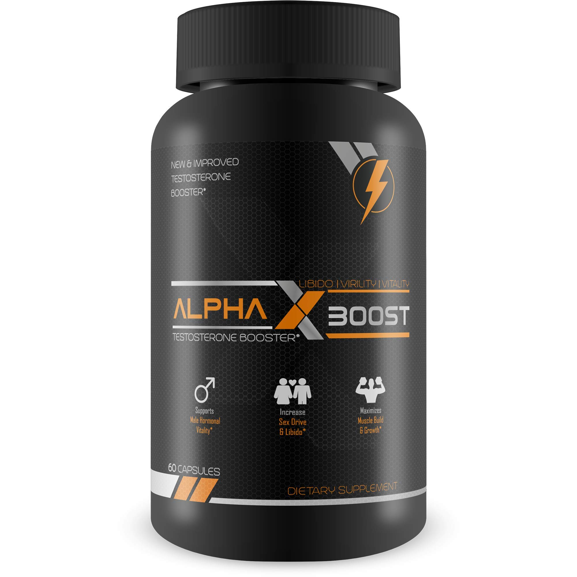 Amazon.com: Alpha X Boost- Optimum Performance Technology- Natural Testosterone Booster- Replenish Natural Test Levels- Safe and Effective- Build Muscle- ...