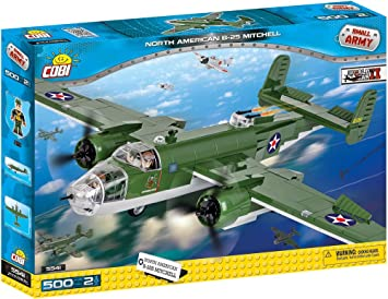 COBI North American B-25 Mi 5541 500pcs WW2 Aircraft