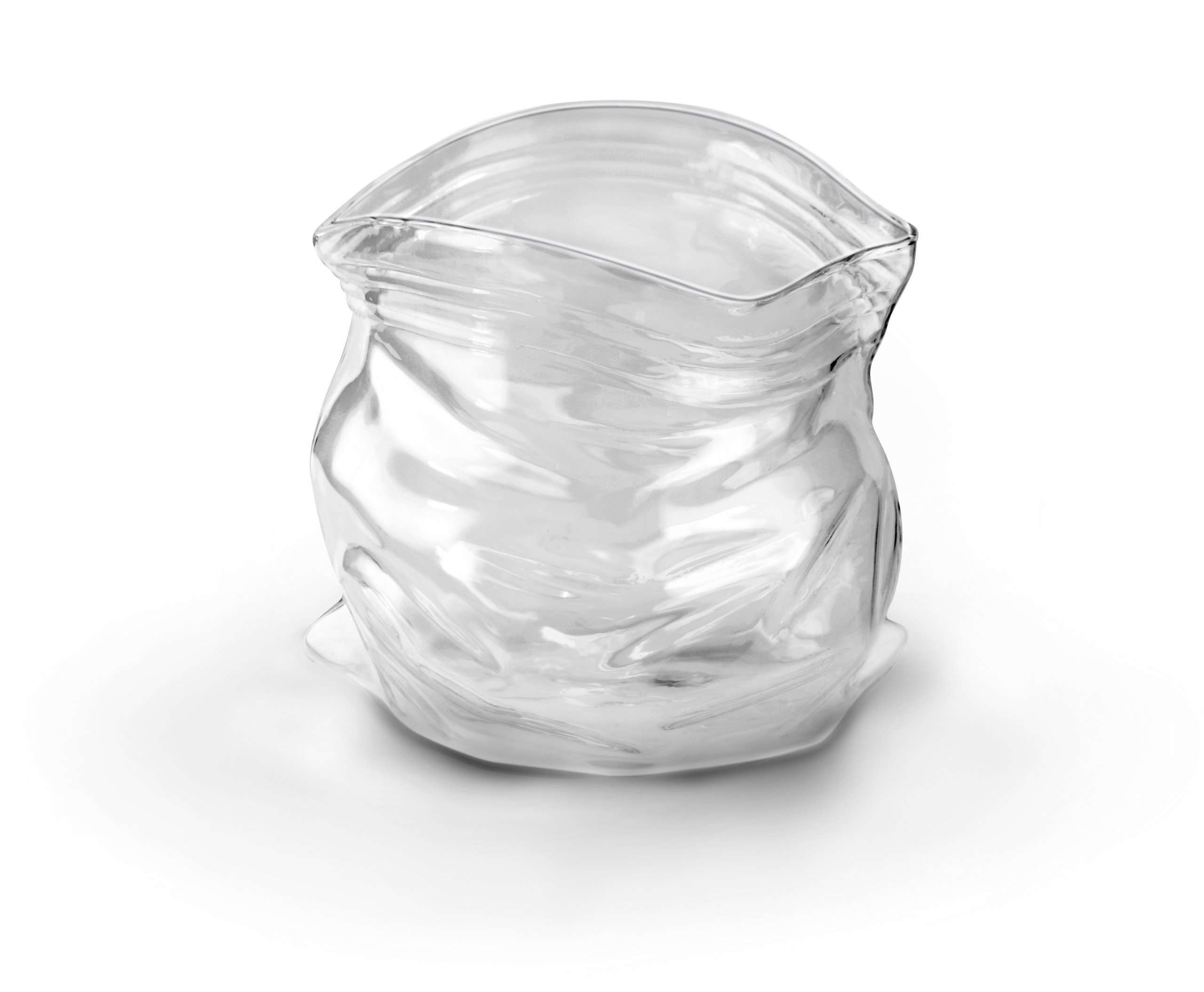 Genuine Fred UNZIPPED Hand-Blown Glass Bowl