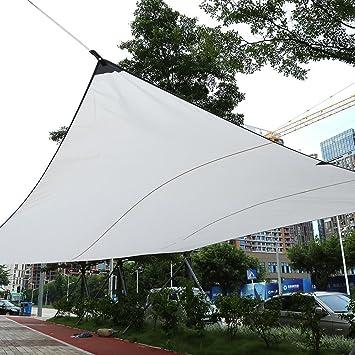 Gototop Voile D Ombrage Rectangulaire Impermeable Pour Terrasse Balcon Jardin 3 X 4m Beige