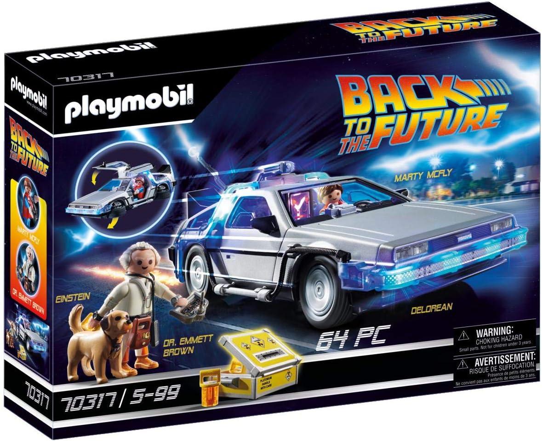 PLAYMOBIL- Back to The Future Juego con Accesorios, Multicolor (70317)