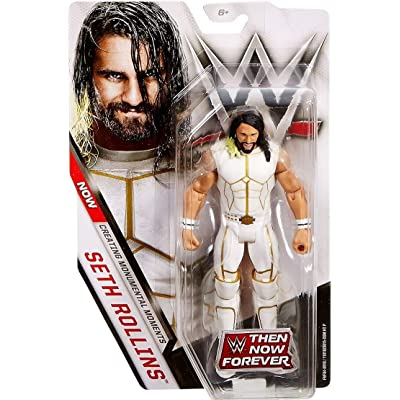 WWE Basic Series Then Now Forever Seth Rollins Action Figure 6.5 Inches: Toys & Games
