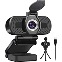 LarmTek 1080P Full HD Webcam with Webcam Cover,Computer Laptop Camera for Conference and Video Call, Pro Stream Webcam…