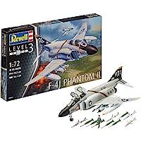 Revell-F-4J Phantom II, Kit de Modelo, Escala 1:72