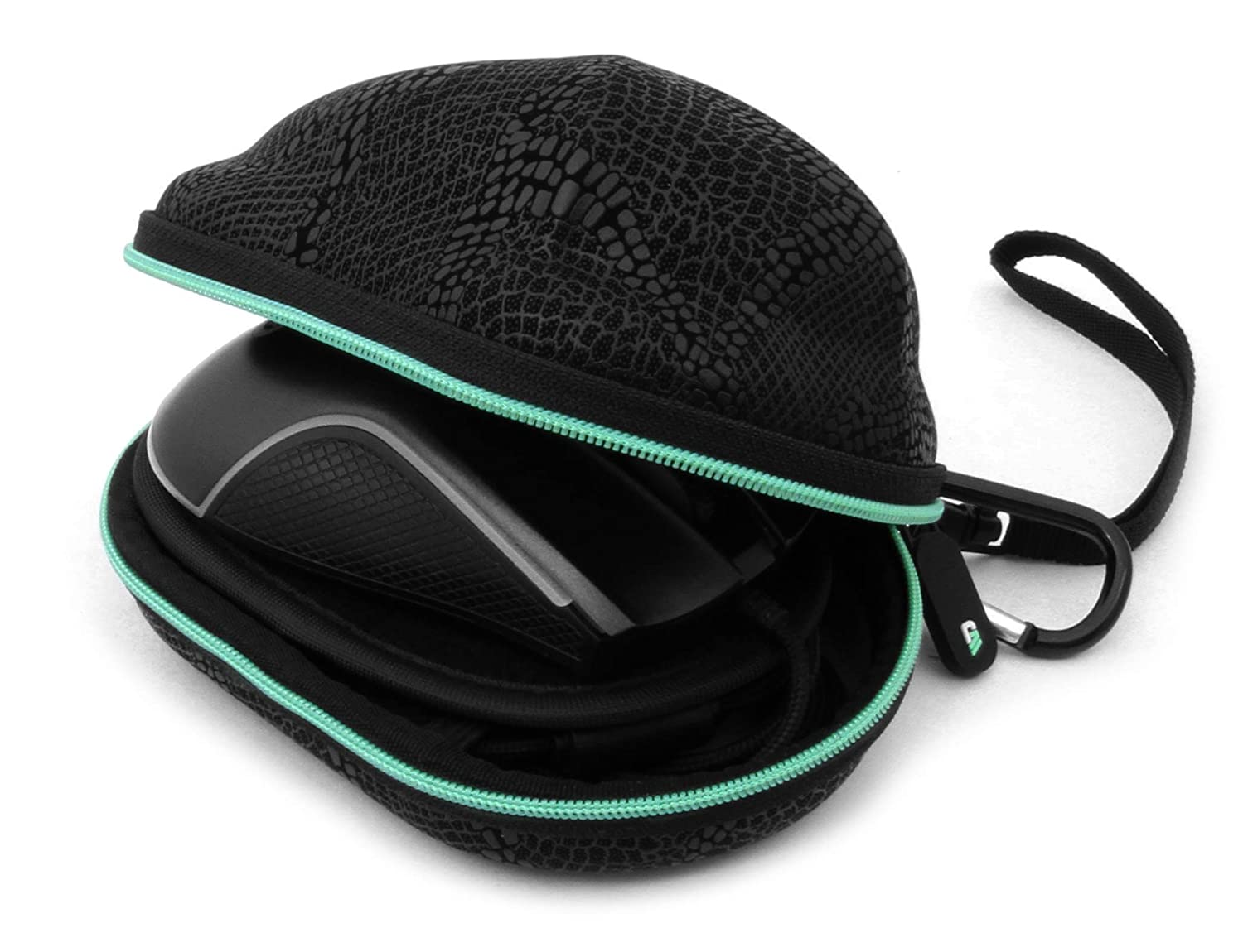 Casematix Sleek Molded Mouse Case Compatible with Razer DeathAdder Elite Gaming Mouse, Viper and More Razer Mouse Models, Does Not Include Computer Gaming Mouse