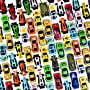 Prextex 100 Pc Die Cast Toy Cars Party Favors Easter Eggs Filler or Cake Toppers...