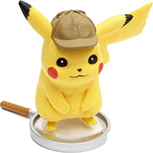 Detective Pikachu Desktop Figure - Pikachu on The Case Box Exclusive - 1.5 inch (Mini Figure)