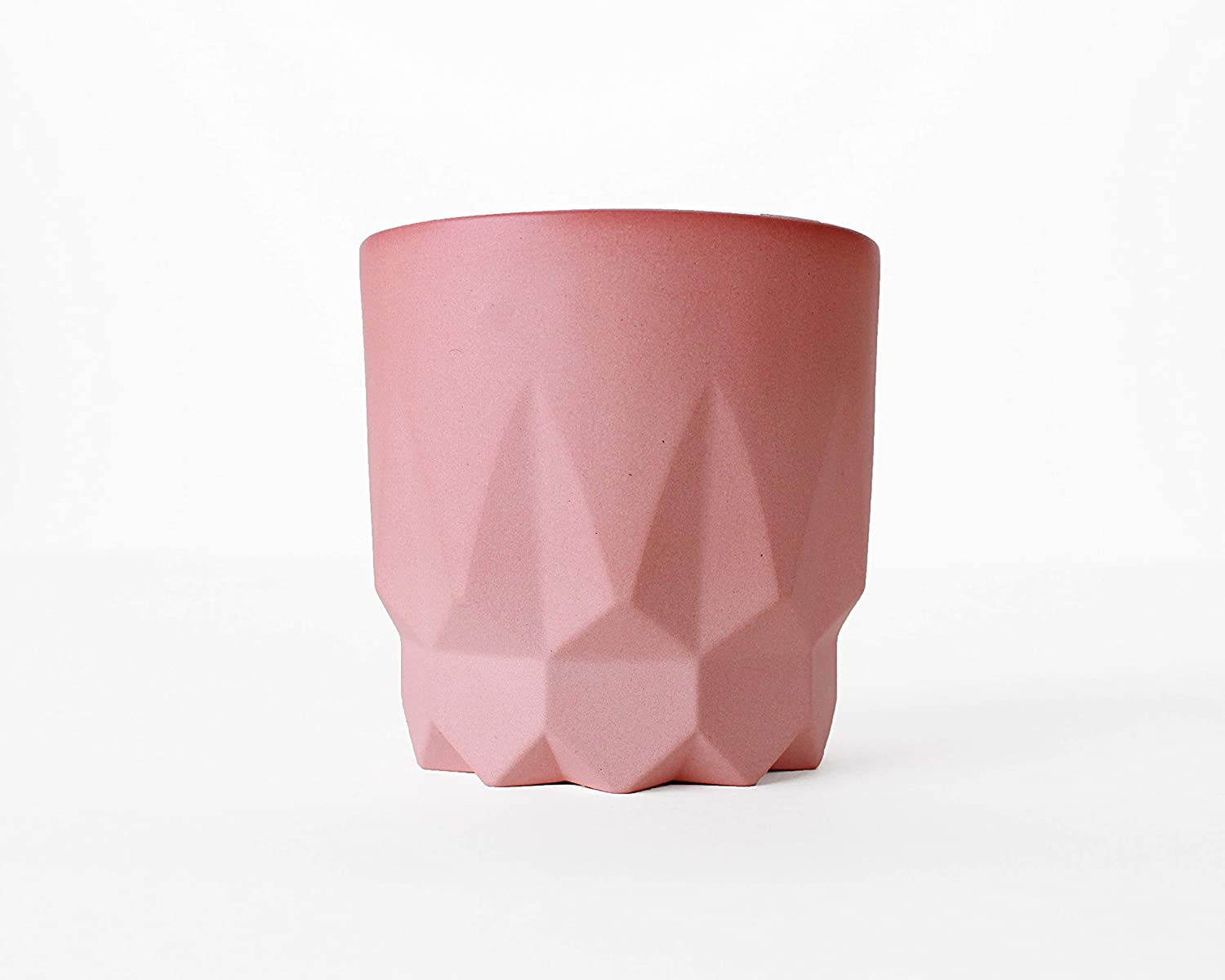 Amazon.com: Faceted Cup No. 8 (Rose): Handmade
